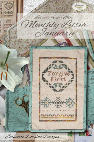 Jeanette Douglas Designs ~ Letters From Mom ~ January