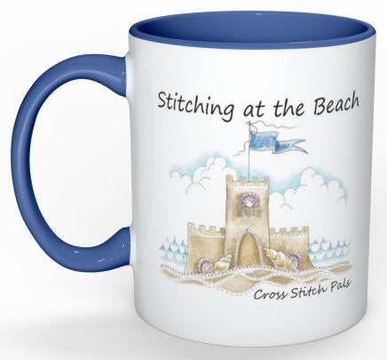 20th Year Stitching at the Beach Mug  - ALMOST SOLD OUT!!!
