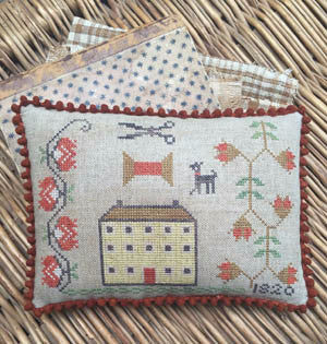 Stacy Nash Primitives ~ The House That Stitching Built Pinkeep