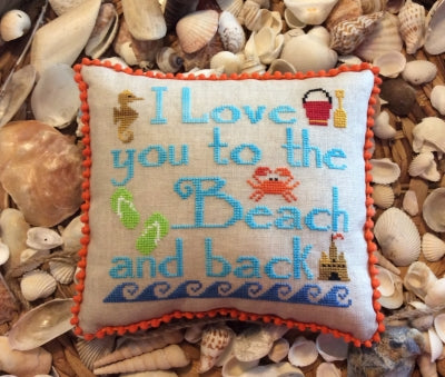 Needle Bling Designs ~ To The Beach & Back