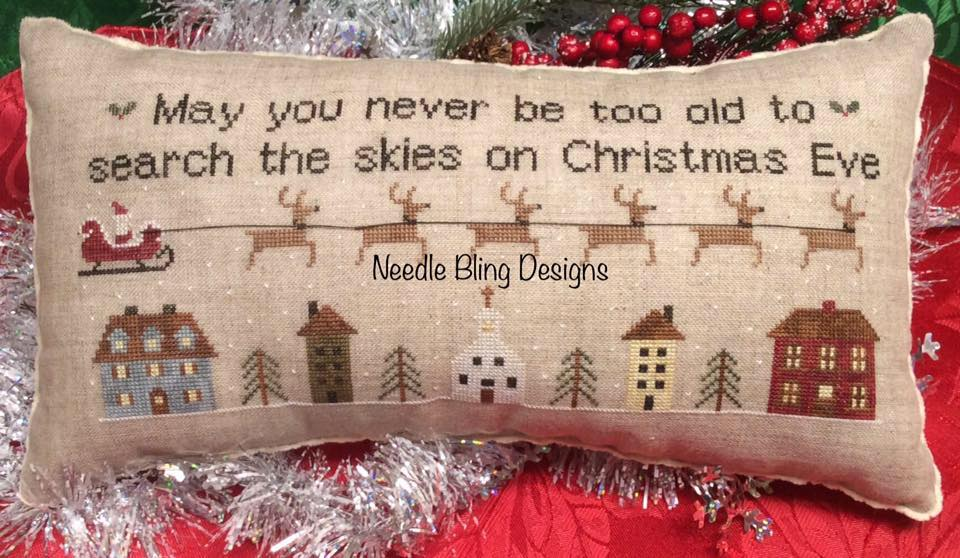 Needle Bling Designs ~ Christmas Eve Ride