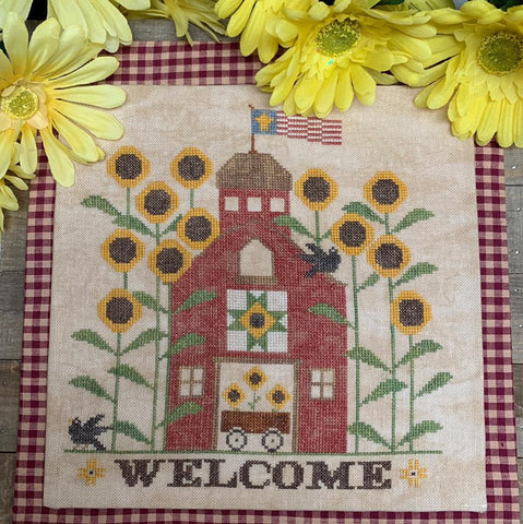 Needle Bling Designs ~ Sunflower Barn