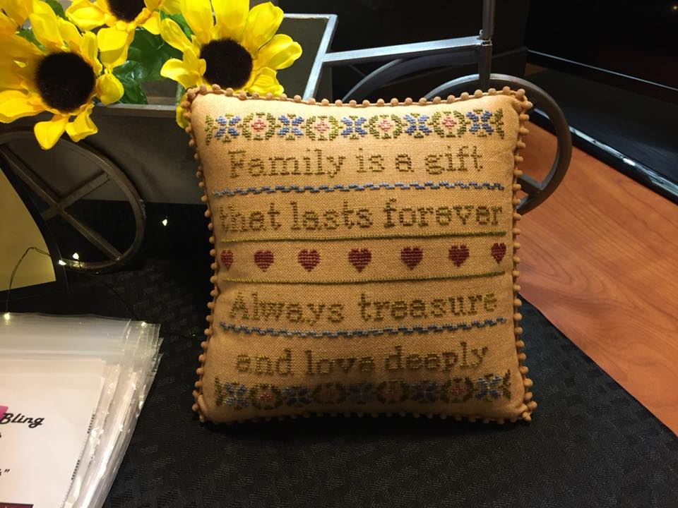 Needle Bling Designs ~ Family Is A Gift