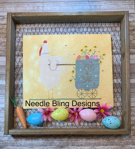 Needle Bling Designs ~ Spring Chicken