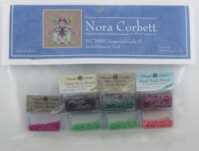 Nora Corbett/Mirabilia ~ Imperial Lady D  Orchid Party EMB PACK