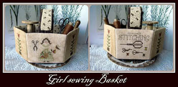 Nikyscreations ~ Girl Sewing Basket