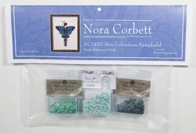 Nora Corbett/Mirabilia ~ Miss Columbian Nymphalid EMB Pack ~ Butterfly Misses