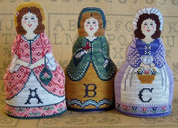 Needle's Notion ~ Alphabet Dolls