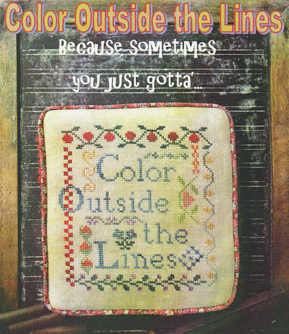 Needlework Press ~ Color Outside the LInes