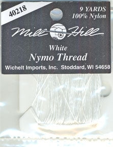 Nymo Thread - White - 9 yards