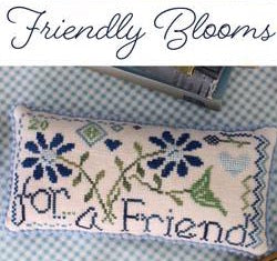 October House Fiber Arts ~ Friendy Blooms