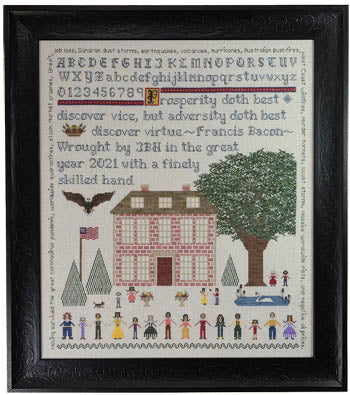 Paradise Stitchery ~ Virtue's House