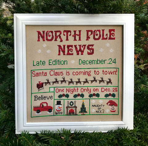 Pickle Barrel Designs ~ North Pole News