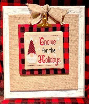 Pickle Barrel Designs ~ Gnome For The Holidays