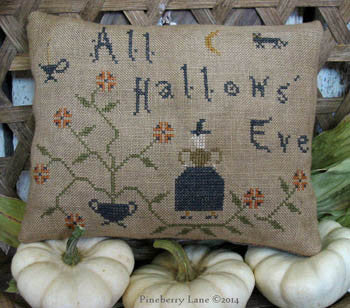 Pineberry Lane ~ All Hallows Eve Pinkeep Pillow