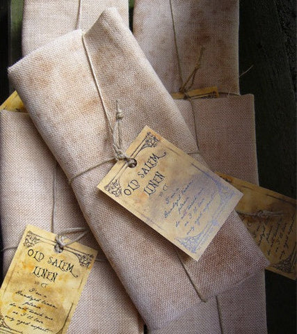 The Primitive Hare ~ 30 ct Old Salem Linen ~ Large Cut