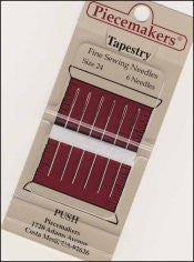 Piecemakers Needles ~ Tapestry Size 22 ~ 6pk