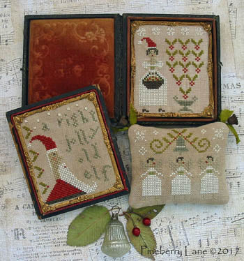 Pineberry Lane ~ Merry Little Stitches