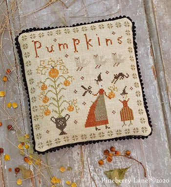 Pineberry Lane ~ Fancey Blackett - The Perfect Pumpkin