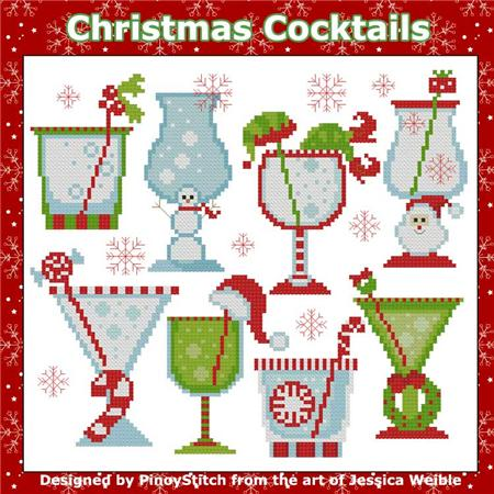 Pinoy Stitch ~ Christmas Cocktails