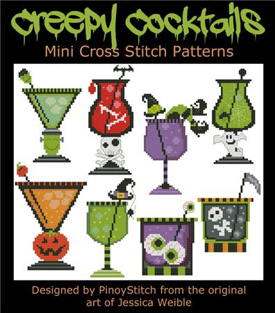 Pinoy Stitch ~ Halloween Cocktails