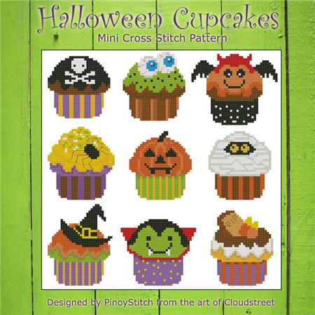 Pinoy Stitch ~ Halloween Cupcakes