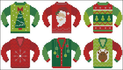 Pinoy Stitch ~ Ugly Christmas Sweaters #1