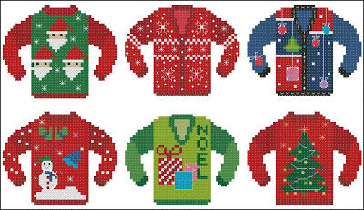 Pinoy Stitch ~ Ugly Christmas Sweaters #2
