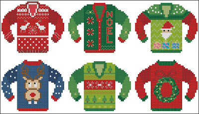Pinoy Stitch ~ Ugly Christmas Sweaters #3