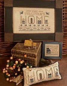 Homespun Elegance ~ Plain & Fancy Collection ~ No Place Like Home