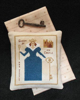 Primitive Needleworks ~ Queen of My Castle and Needle