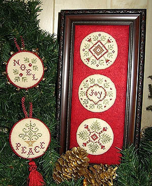 Plum Pudding Needleart ~ Home For The Holidays
