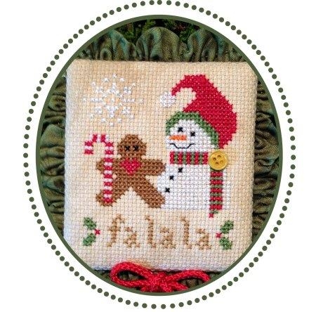 Plum Pudding Needleart ~ Fa La La