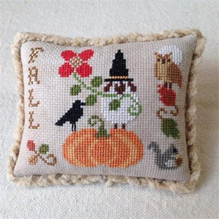 Plum Pudding Needleart ~ Plum Petite Seasons Collection - Fall