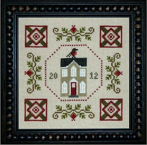 Plum Pudding Needleart ~ One Fine Day