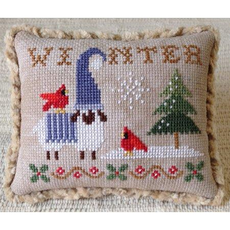 Plum Pudding Needleart ~ Plum Petite Seasons Collection - Winter