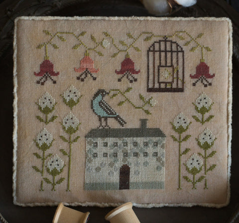 Plum Street Samplers ~ Cotton Bird