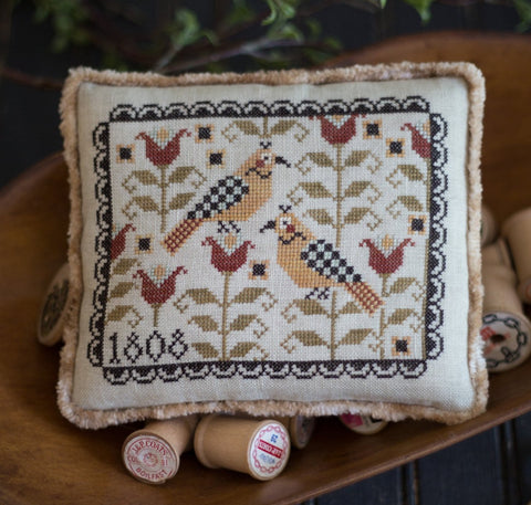 Plum Street Samplers ~ Fraktur Friends
