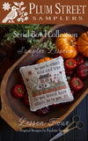 Plum Street Samplers ~ Sampler Lesson Four