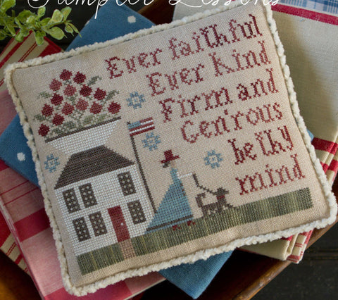 Plum Street Samplers ~ Sampler Lesson Two