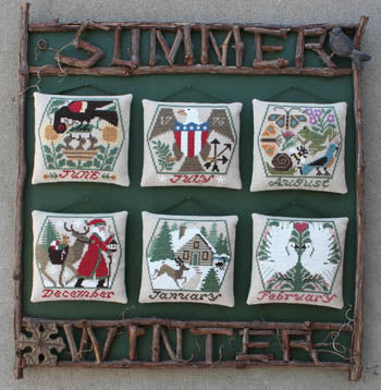 Prairie Schooler ~  Summer & Winter - REPRINT