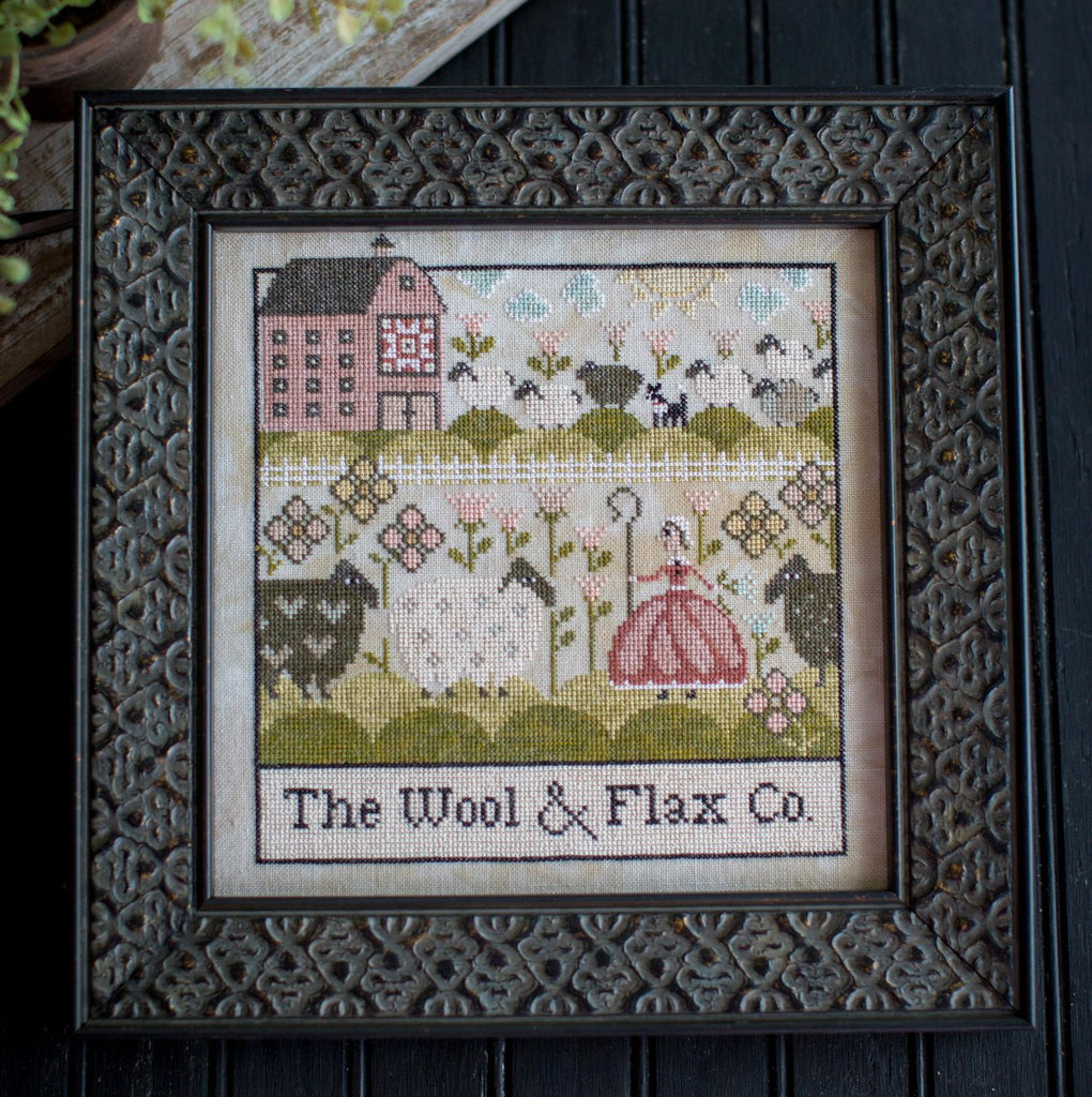Plum Street Samplers ~ The Wool & Flax Co.