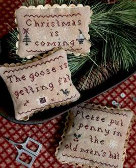 Plum Street Samplers ~ Christmas Is Coming (Oldie but Goodie!)