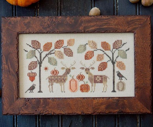 Plum Street Samplers ~ Deer Friends