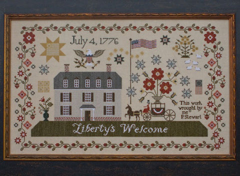 Plum Street Samplers ~ Liberty's Welcome