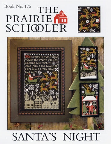 Prairie Schooler ~ Santa's Night ~ REPRINT
