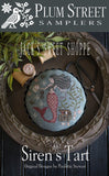 Plum Street ~ Siren's Tart w/32 ct Linen (no tartlet pan!) LIMITED EDITION Exclusive!