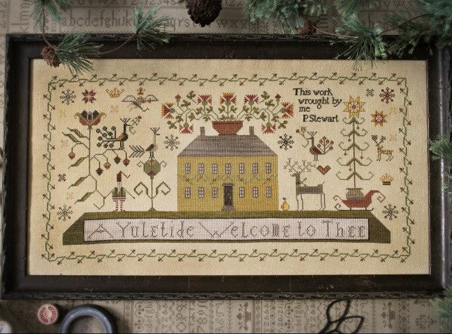 Plum Street Samplers ~ A Yuletide Welcome