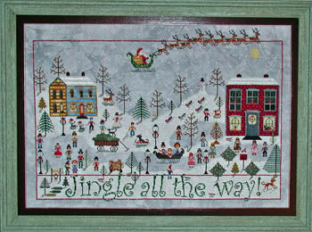 Praiseworthy Stitches ~ Jingle All The Way