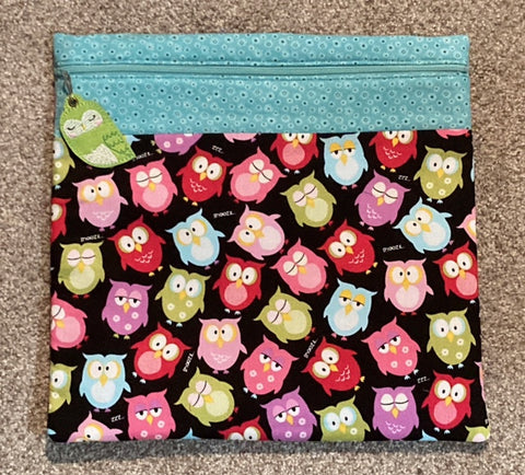 Project Bag ~ Colorful Owls    ***limited # available